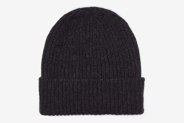 100 Percent Cashmere Unisex Beanie Hat by Lona Scott