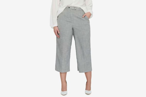 Michel Studio Crop Wide Leg Pants