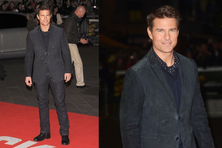 Tom Cruise in London.