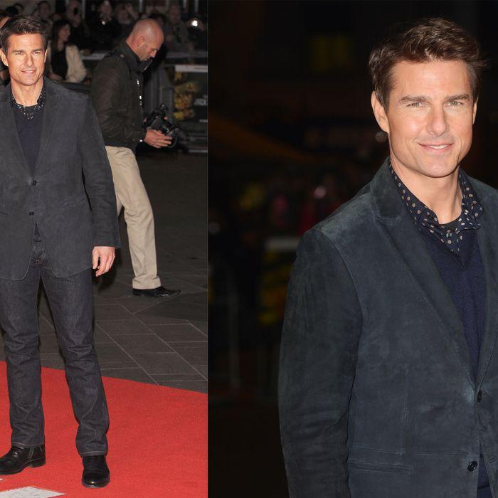 Tom Cruise in London.