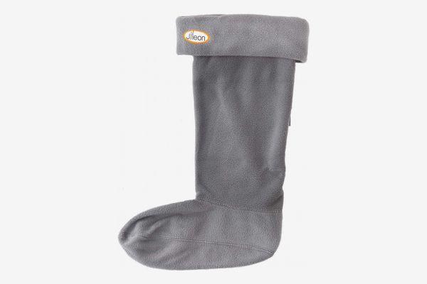 Jileon Women and Men Warm, Cozy & Soft Winter Fleece Rainboot Liners