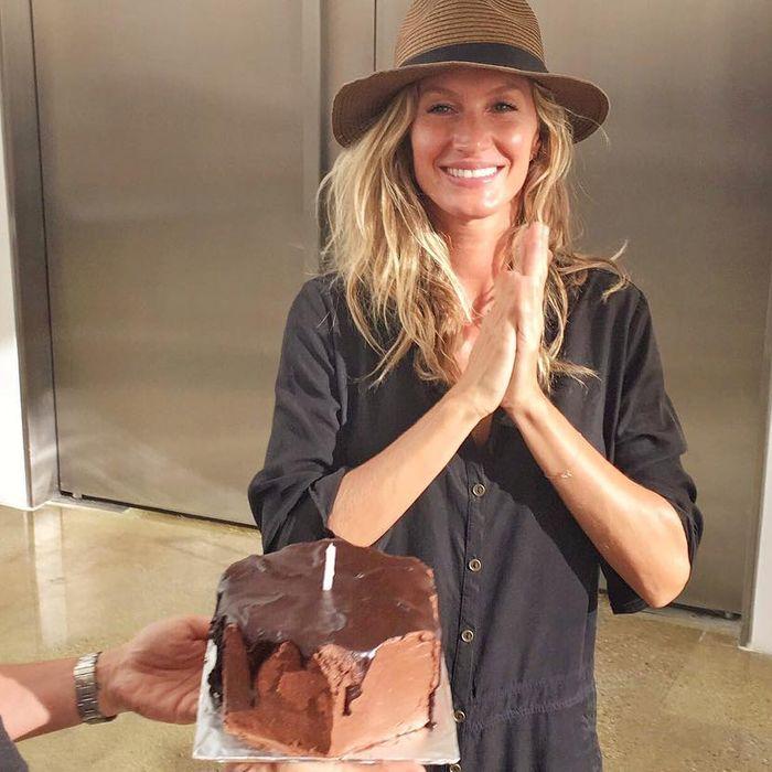 What Exactly Is Gisele's Birthday Cake?