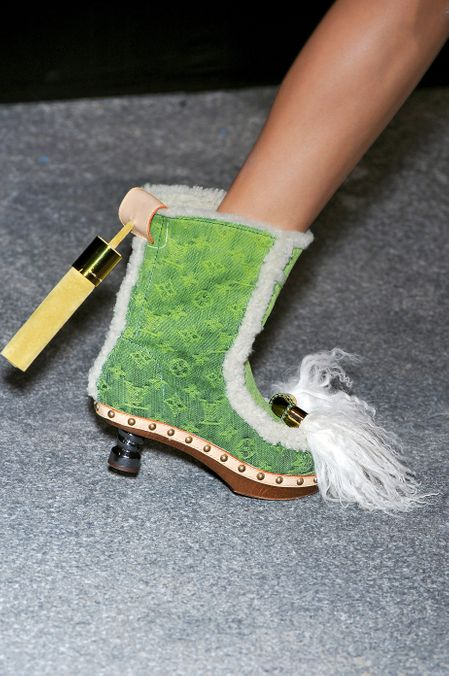 Photo 30 from Louis Vuitton Daisy Half-Boots in Monogram Denim, S/S 2010