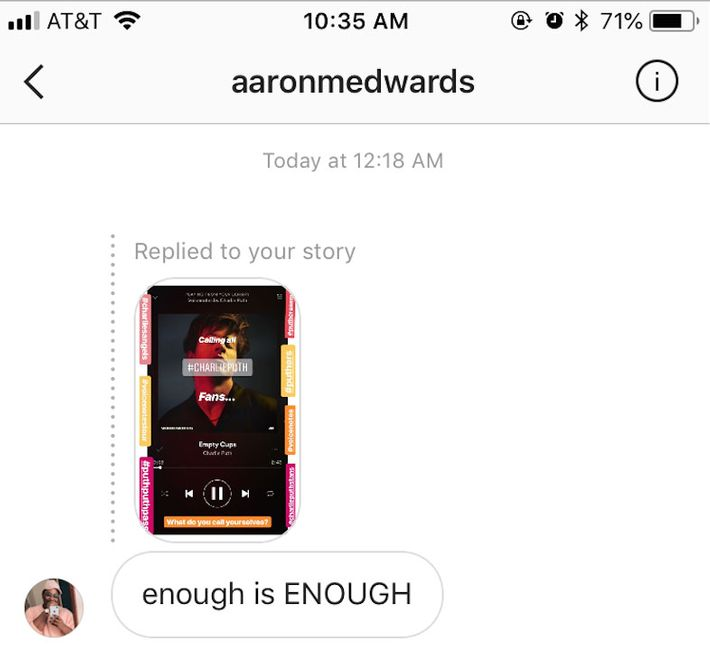 Aaron tried to bury me but he didn't know I am a seed!