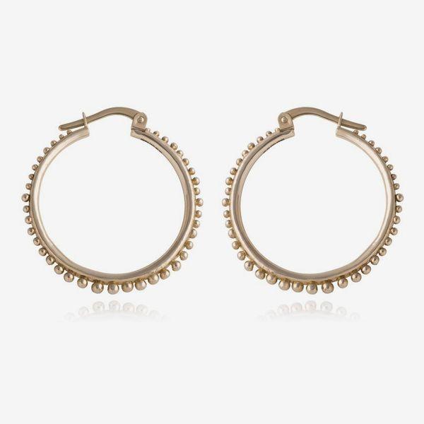Radiant Hoop Earrings