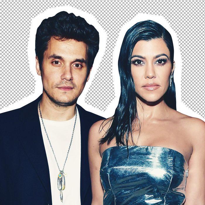 John Mayer and Kourtney Kardashian