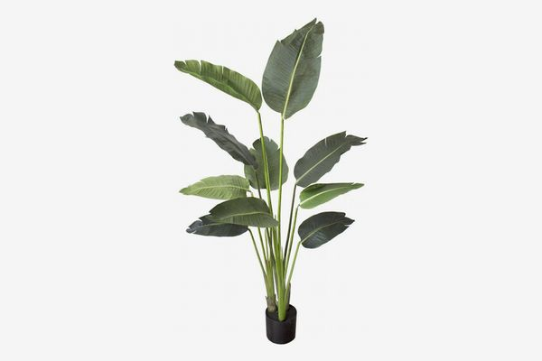 Silk Tree Warehouse 5-Foot Artificial Bird of Paradise Plant