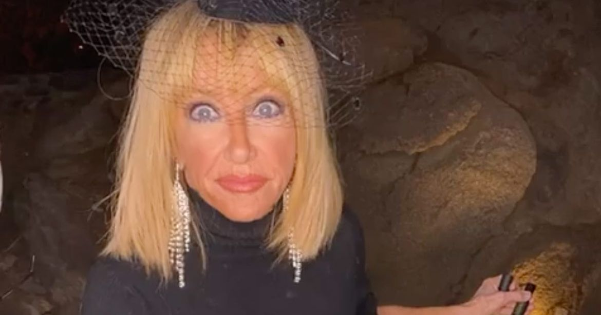 Two Was Company When Suzanne Somers Noticed a Home Intruder During a Livestream - Vulture
