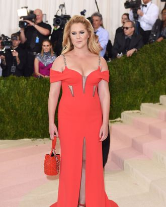 Amy Schumer and her chafeless thighs.