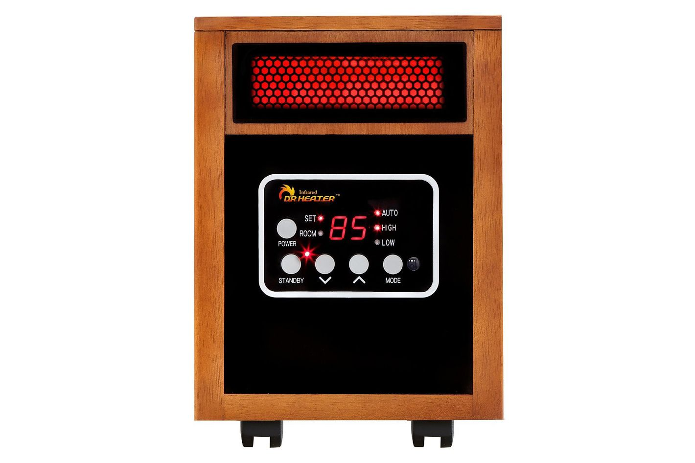 Dr. Infrared Heater Portable Space Heater, 1500-Watt