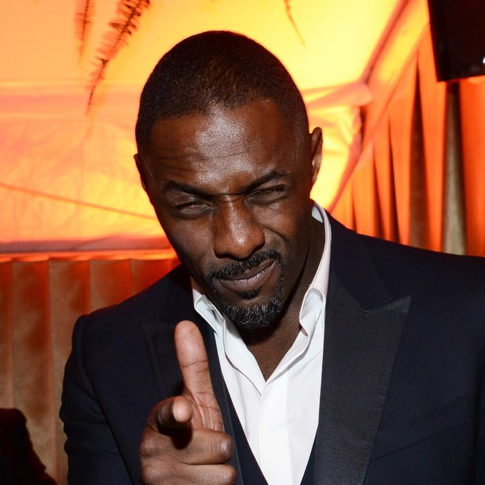 BEVERLY HILLS, CA - JANUARY 12: Idris Elba attends The Weinstein Company & Netflix's 2014 Golden Globes After Party presented by Bombardier, FIJI Water, Lexus, Laura Mercier, Marie Claire and Yucaipa Films at The Beverly Hilton Hotel on January 12, 2014 in Beverly Hills, California. (Photo by Araya Diaz/Getty Images for The Weinstein Company)