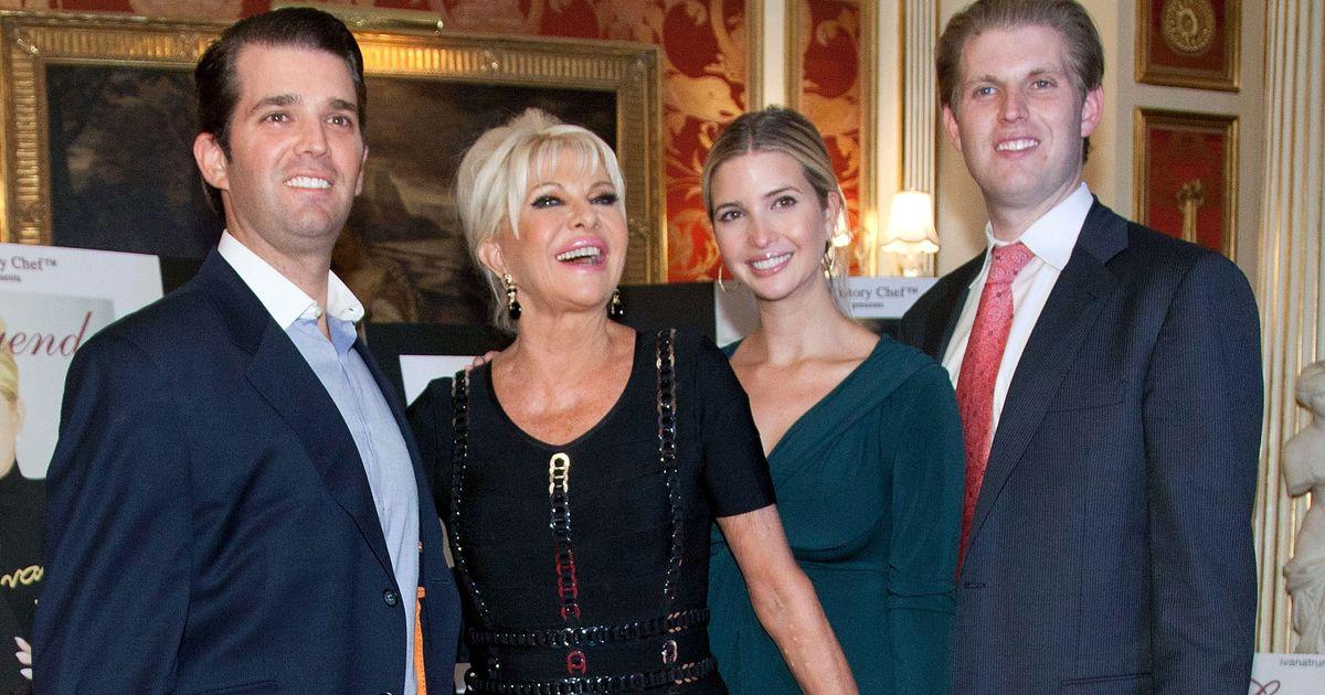 news ivana trump donald trumps wife writing memoir