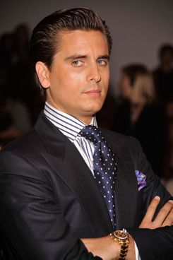 Television personality Scott Disick attends the Jill Stuart Spring 2012 fashion show during Mercedes-Benz Fashion Week at The Stage at Lincoln Center on September 10, 2011 in New York City.