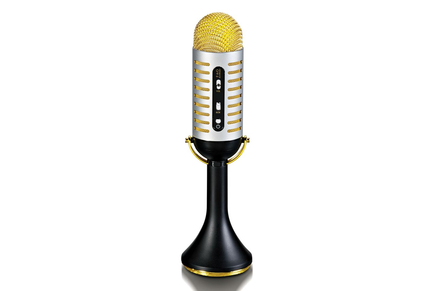 FAO Schwarz Bluetooth Vintage Musical Microphone