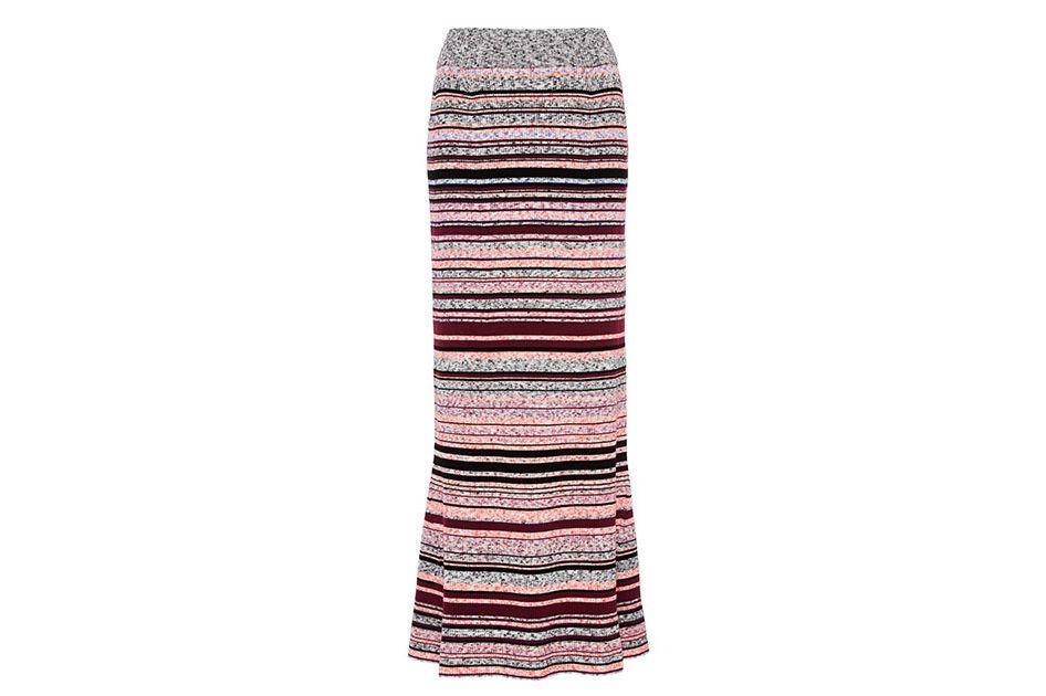 Tanya Taylor Rosa knit skirt
