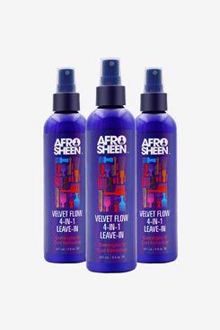 Afro Sheen Velvet Flow 4-in-1 Leave-in Spray