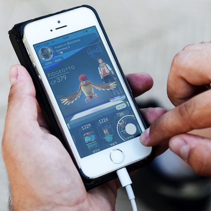 SPAIN-POKEMON-GAME-TECHNOLOGY