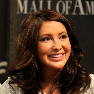 BLOOMINGTON, MN - JUNE 29: Bristol Palin signs her book,