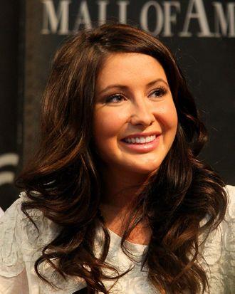 BLOOMINGTON, MN - JUNE 29: Bristol Palin signs her book,