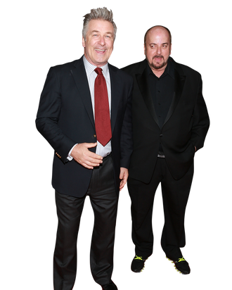 Director James Toback and actor Alec Baldwin attend the