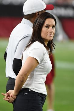 Former NFL coach Jen Welter.