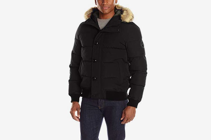 Levi's Men's Shorty Snorkel Bomber Jacket