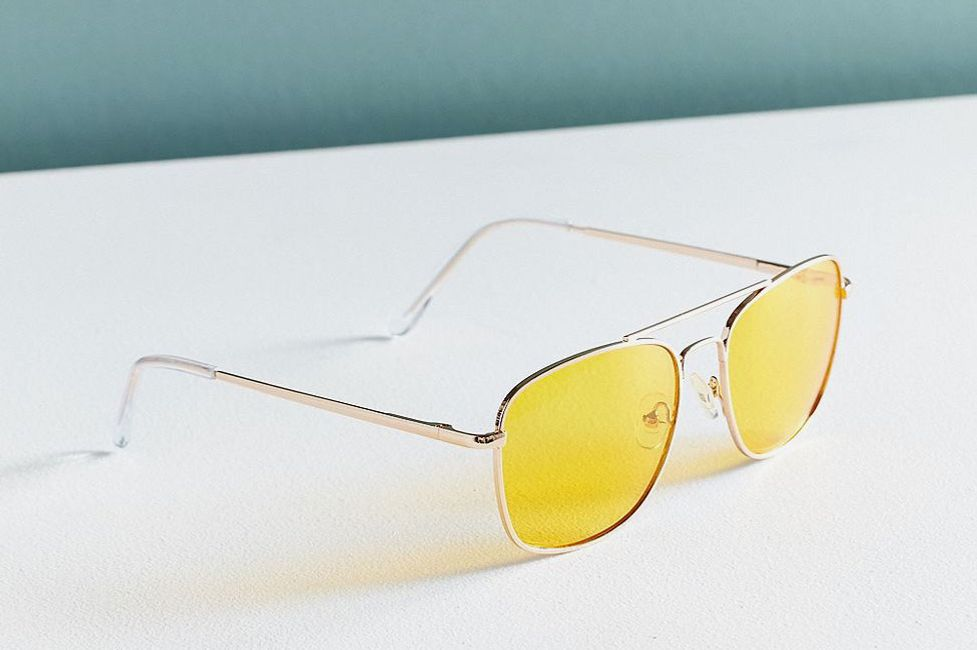 Translucent Aviator Sunglasses