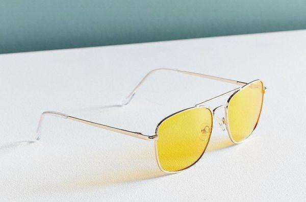 Translucent Aviator Sunglasses