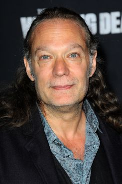 """UNIVERSAL CITY, CA - OCTOBER 02:  Producer/Special Effects Artist Greg Nicotero arrives for AMC Celebrates The Season 5 Premiere Of """"The Walking Dead""""  held at AMC Universal City Walk on October 2, 2014 in Universal City, California.  (Photo by Albert L. Ortega/Getty Images)"""