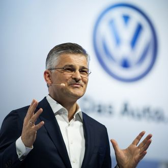 President and CEO of Volkswagen Group of America, Inc. Michael Horn