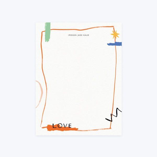 Papier Reflections Writing Paper Set