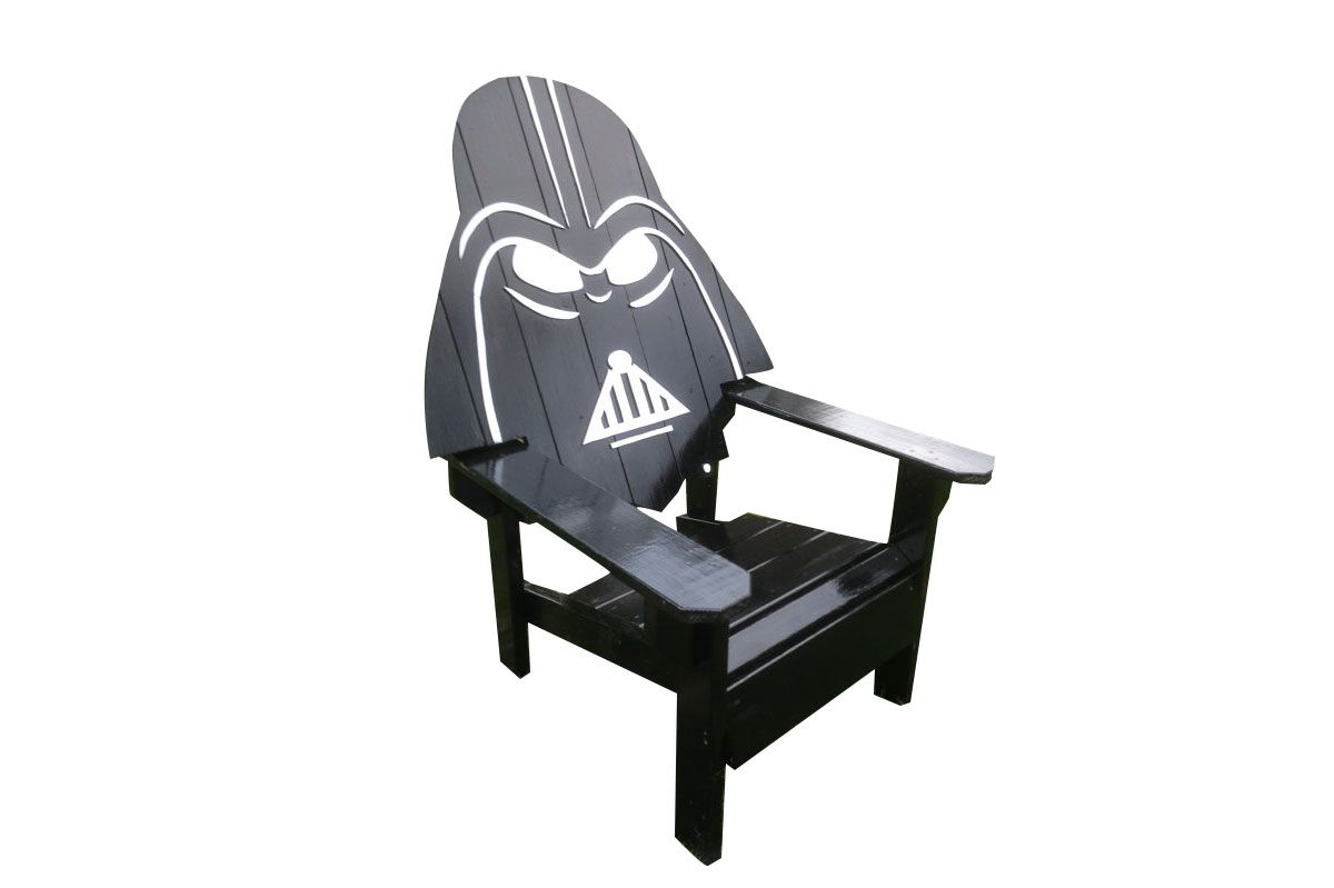 Darth Vader Adirondack Chair (painted version)