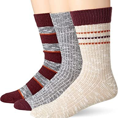 Goodthreads Men's 3-Pack Boot Socks