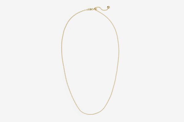 Monica Vinader Rolo Gold Vermeil Chain