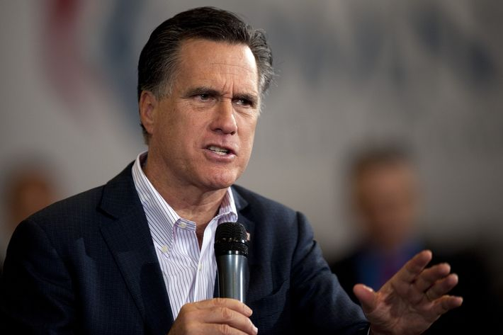 Republican presidential hopeful Mitt Romney speaks at a town hall meeting in Youngstown, Ohio, March 5, 2012.