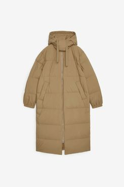Arket Long Down Puffer Coat