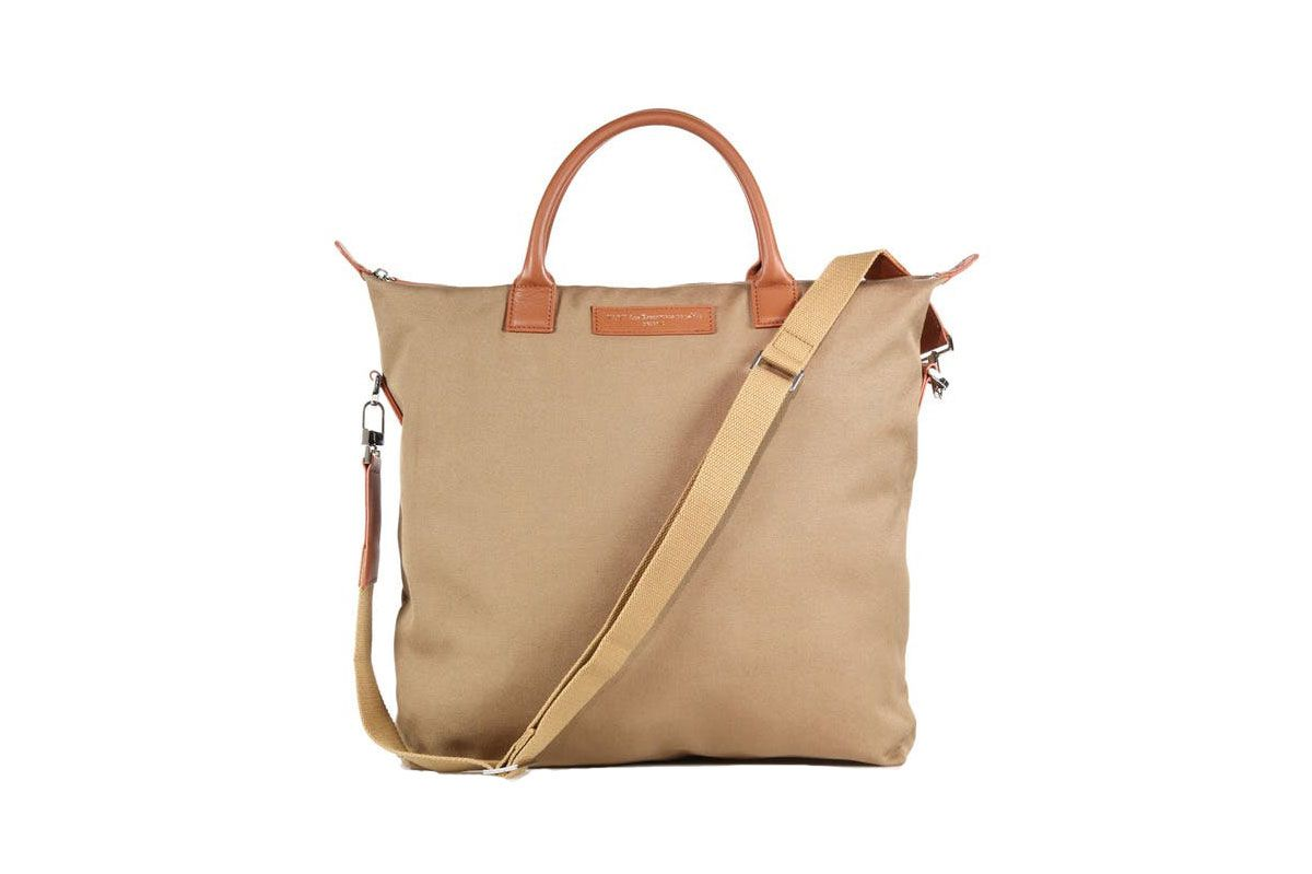 Want les Essentiels de la Vie O'Hare Canvas & Leather Tote