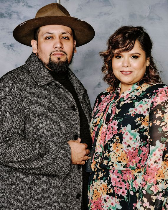 Gentefied co-creators Marvin Lemus and Linda Yvette Chávez.