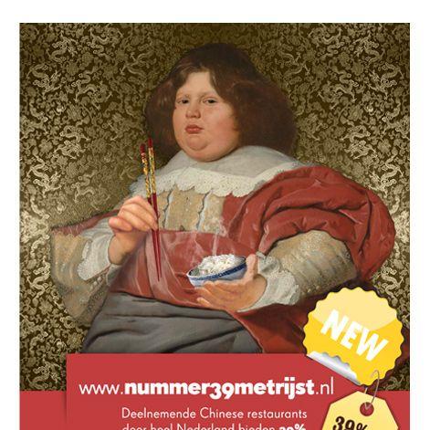 Real Dutch masters use chopsticks.