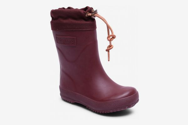 Bisgaard Natural Rubber Boots - Wool Lined