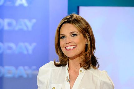 "TODAY -- Pictured: Savannah Guthrie -- ""Today"" show co-host Savannah Guthrie appears on the ""Today"" show."