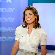 """Today"" show co-host Savannah Guthrie appears on the ""Today"" show."