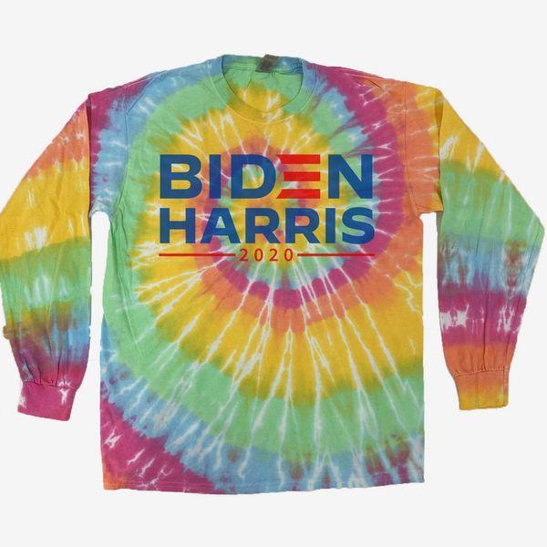 Biden-Harris 2020 Hand-Dyed Spiral Tee