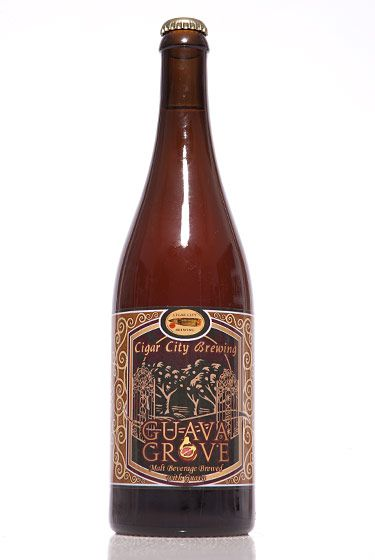 "Cigar City Brewing (Florida)<br>$15 for 25 oz. <br><strong>Type:</strong> Saison<br><strong>Tasting notes:</strong> ""Tart and slightly funky, with an estery apple, apricot, and guava finish. Great for the wine drinker or fans of fruit beers."" <br>—Erik Olsen, manager, Brouwerij Lane<br> <br>"