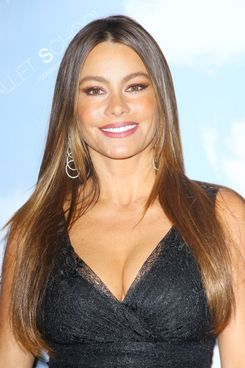 "Sofia Vergara arrives at the Joffrey Ballet School introduces ""Joffrey West"" held at The Valley Performing Arts Center on July 27, 2012 in Northridge, California."