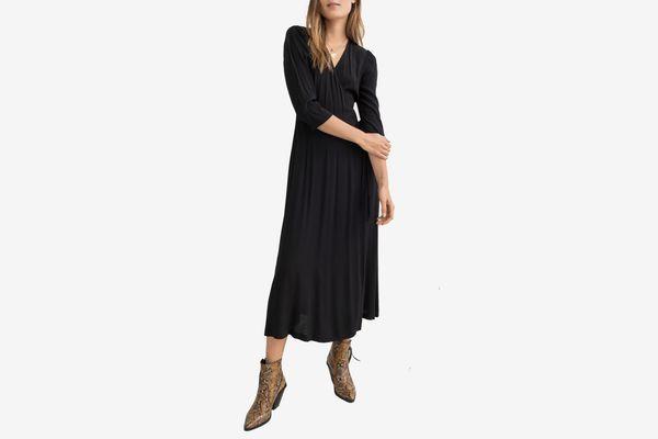 & Other Stories Midi Wrap Dress