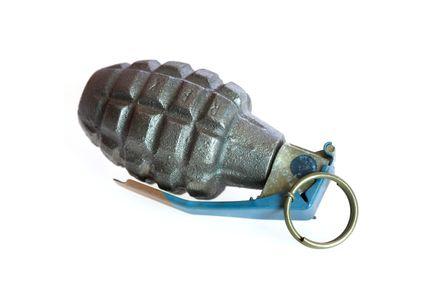Grenade --- Image by ? Ocean/Corbis