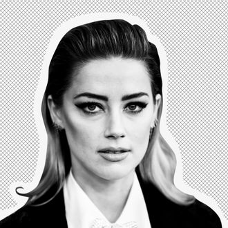 Actor and activist Amber Heard on the red carpet