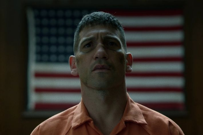 Jon Bernthal as Frank Castle.