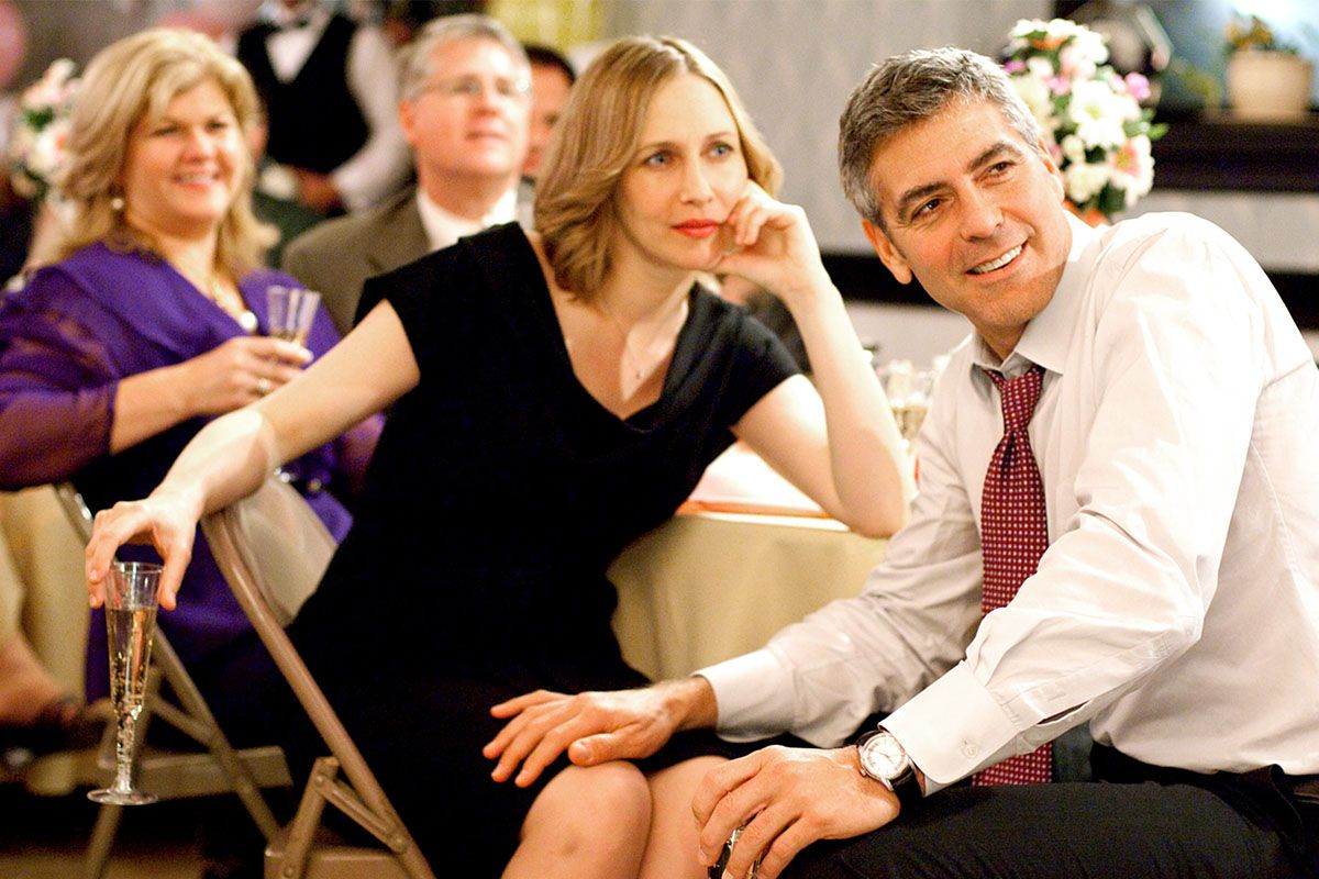 "<em><span class=""clay-designed kiln-phrase"">Up in the Air</span></em><span class=""clay-designed kiln-phrase"">, by Jason Reitman. </span>The film about a proud frequent flyer played by George Clooney hooked writer Nick Cuse in the midst of a bad breakup. Watching Clooney and co-star Vera Farmiga attend a wedding made him realize the ritual was an ideal venue for Kevin and Nora's ""date"" in the finale."
